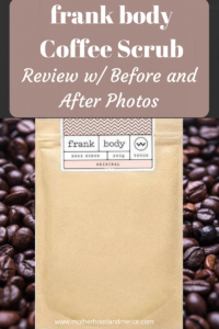 frank body scrub review with before and afters. The original frank body scrub