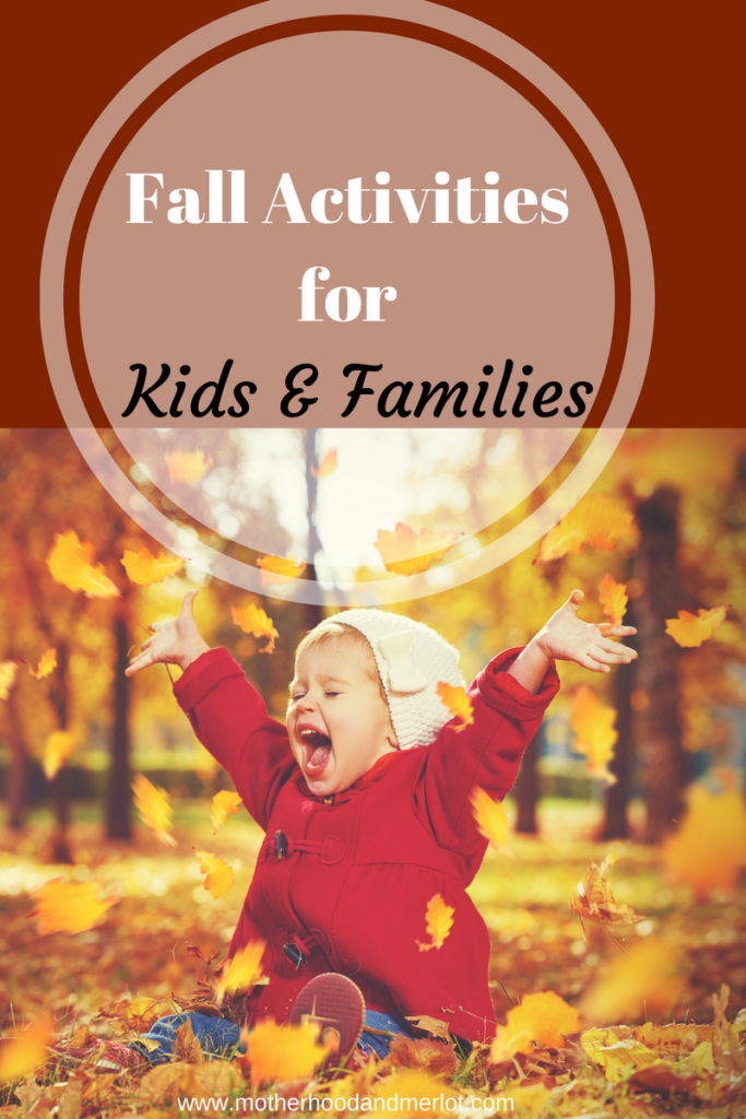 5 fun ideas for the fall and fall activities for kids to do. All family friendly and all perfect for the fall season.