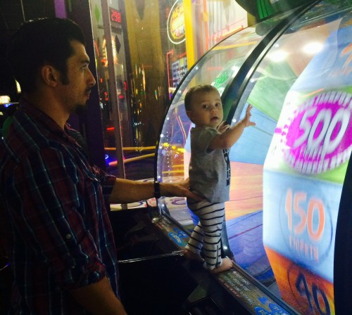 Dave and Busters birthday