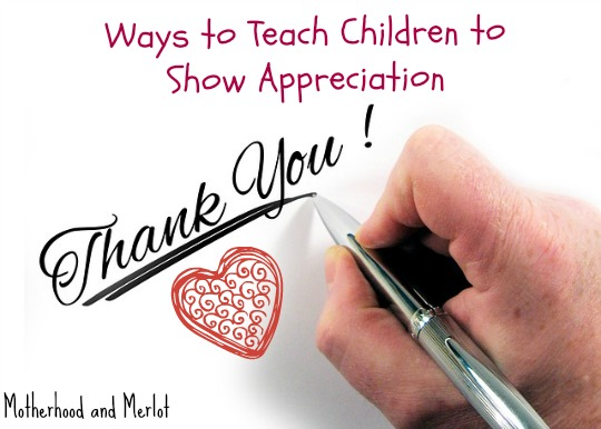 ways to teach children about being thankful