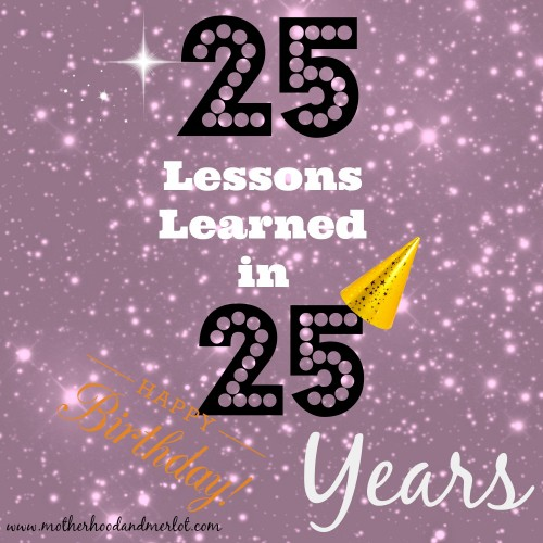 25 lessons