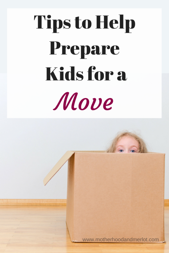 Tips for moving with children. Preparing kids for a move can be tough, but it can be a lot less stressful using some of these tips.