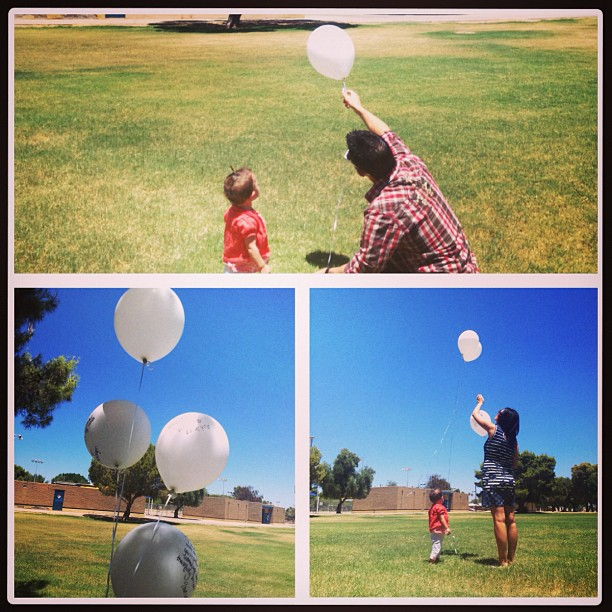 baloons for dad