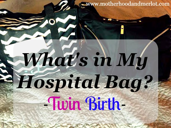 hospital bag for twin delivery