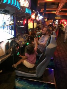 dave and busters with kids