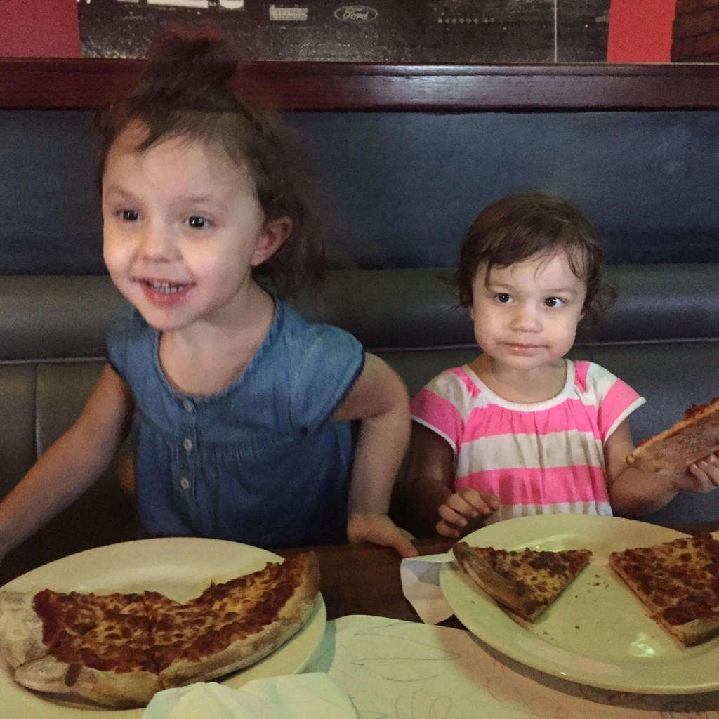 girls pizza