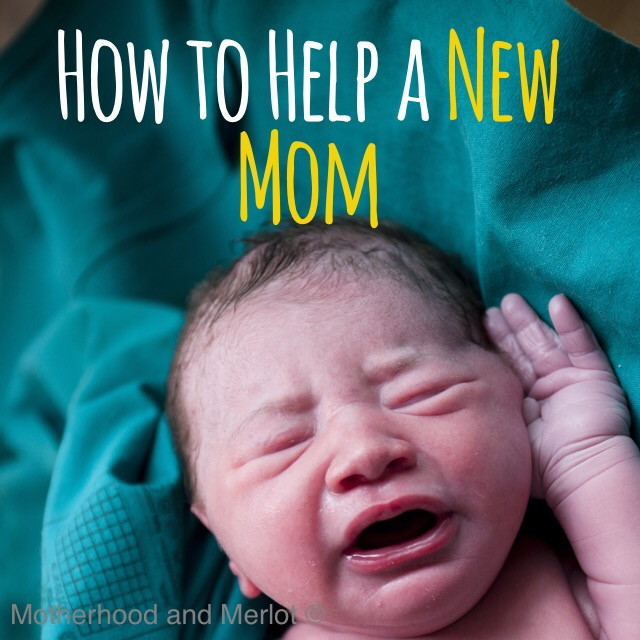 helping a new mom