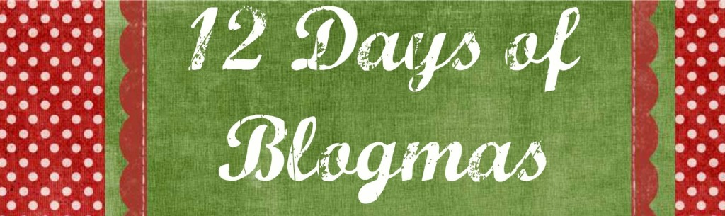 12 Days of Blogmas Header