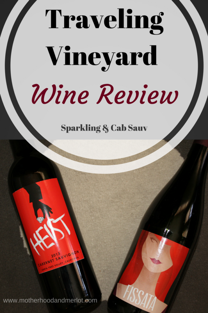 review of a sparkling rose and cabernet sauvignon from traveling vineyard wines