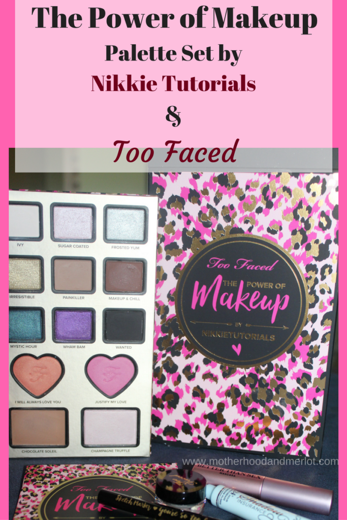 Review and photos of the Power of Makeup palette by Too Faced and Nikkie Tutorials. A full honest review of the kit.