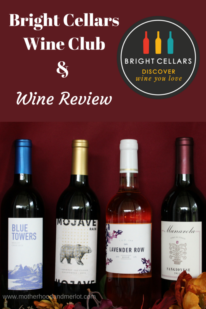 Unique wines that fit your taste profile and that get delivered to your door! Learn more about Bright Cellars Wine Club & some of their wines