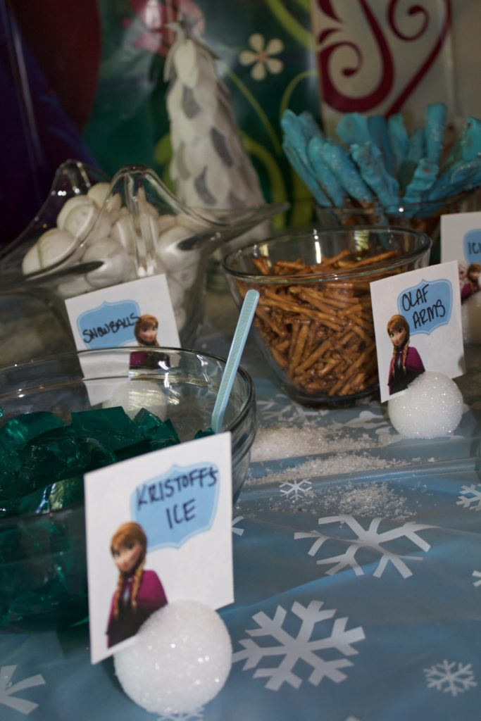 Everything you need to throw an awesome Disney Frozen Birthday party for any age! Food, decor, goodie bags, and more.