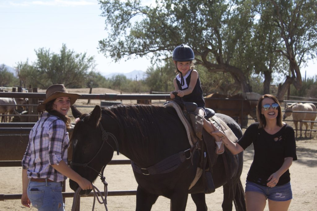 Our trip to Macdonald's Ranch in Scottsdale, AZ. All about the fun activities they offer and what it is like for families to visit.