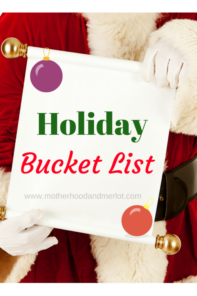 What is on your holiday bucket list this year? Here are some ideas for you to enjoy with the whole family!