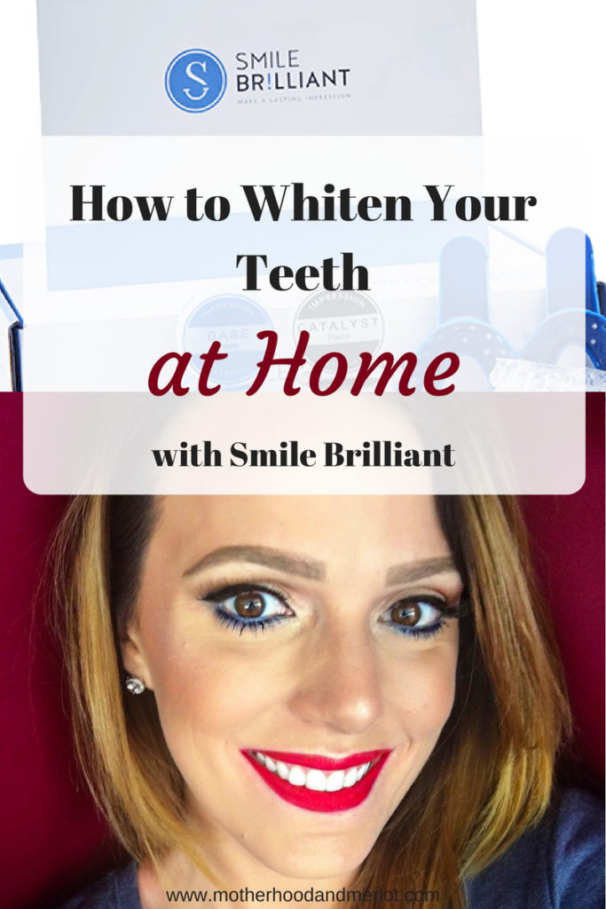 The best system to use for teeth whitening and tips on how to whiten teeth at home using Smile Brilliant whitening system.