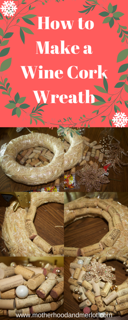 An in depth tutorial with photos and instructions on how to make your very own wine cork wreath for the holidays, or for any time!