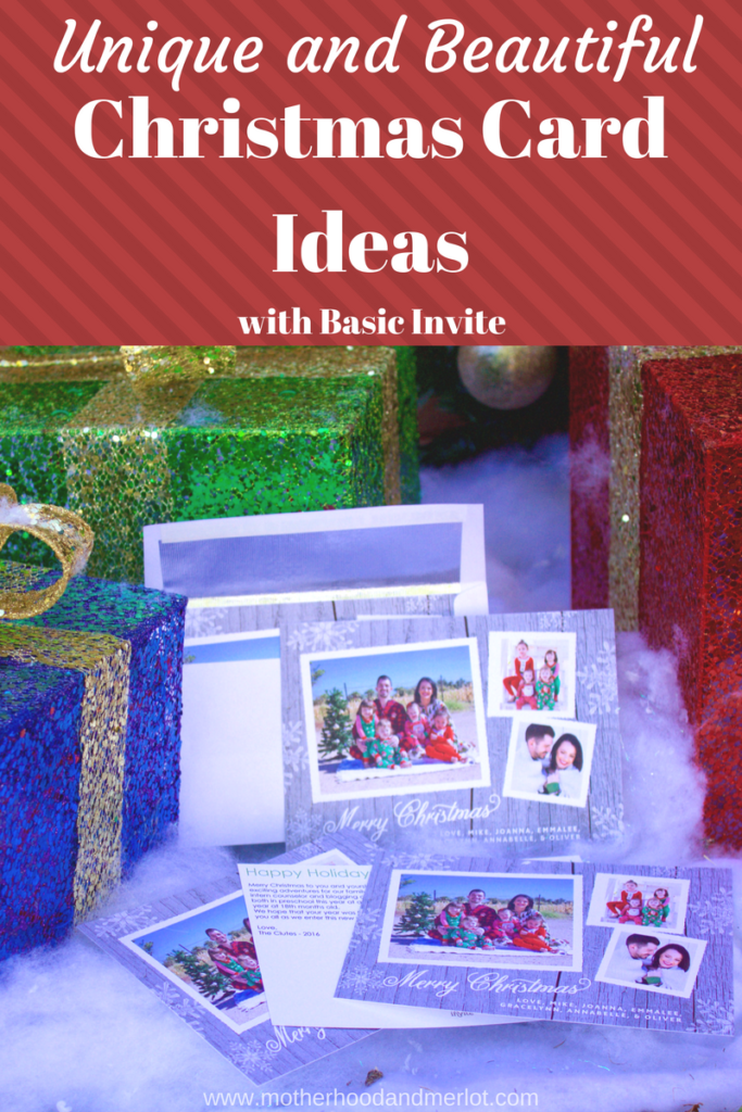 Ways to bring your Christmas card ideas to life using Basic Invite. Some great personal examples of those classic family holiday photos.