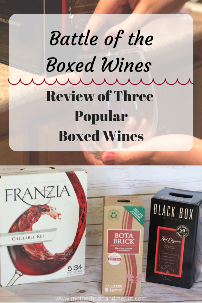 Battle of the Boxed Wines! A full review of the three different boxed wines popular in stores today. Find out the best box wine of them all!