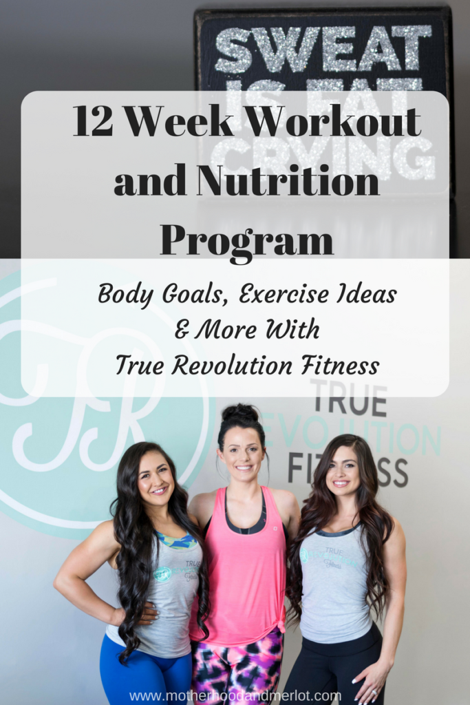 Looking to get motivated in the gym or in the kitchen? Come join me on this 12 week Workout and nutrition program with True Revolution.