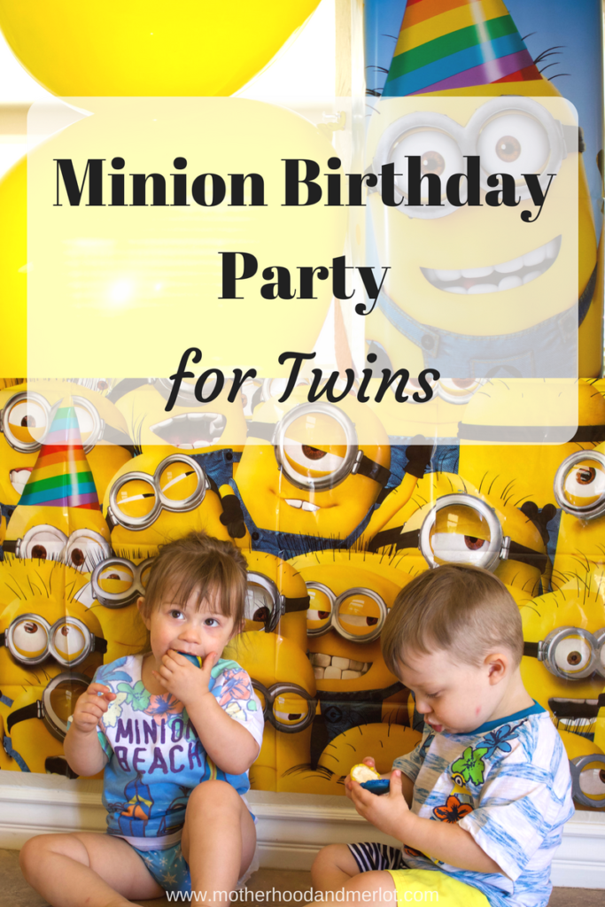 Is your little minion having a birthday? Check out these ideas on how to throw an awesome Minion Birthday Party, like we did for twins!