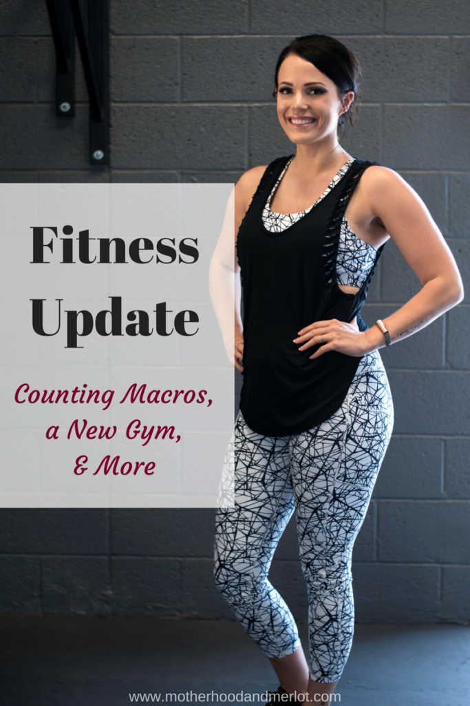 A fitness update from the last few months of a very strict exercise plan and counting macros on a meal plan.