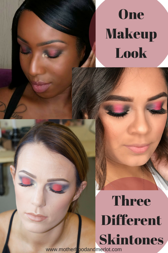 Check out this gorgeous fall makeup look, inspired by Gigi Hadid, on three very different skin tones and ladies.