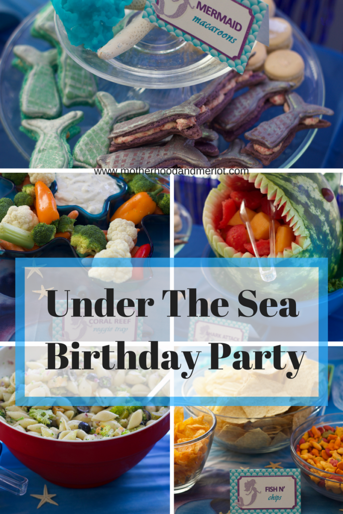 Planning an under the sea birthday party? Check out this post for food ideas, decor, and even gift ideas for the birthday girl or boy!