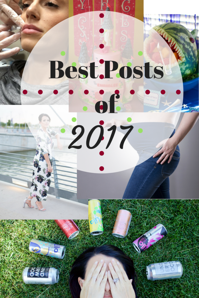 The best posts from 2017, including fashion, kids birthday party ideas, and more. Plus, take an end of the year reader survey to make 2018 the best yet!