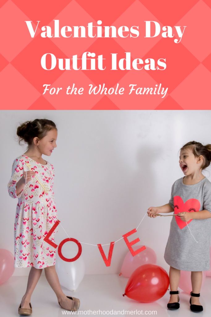 Valentines Day is right around the corner, and we are ready for all of the reds and pinks. Here are some Valentines Day outfits for the whole family, mama's and littles.