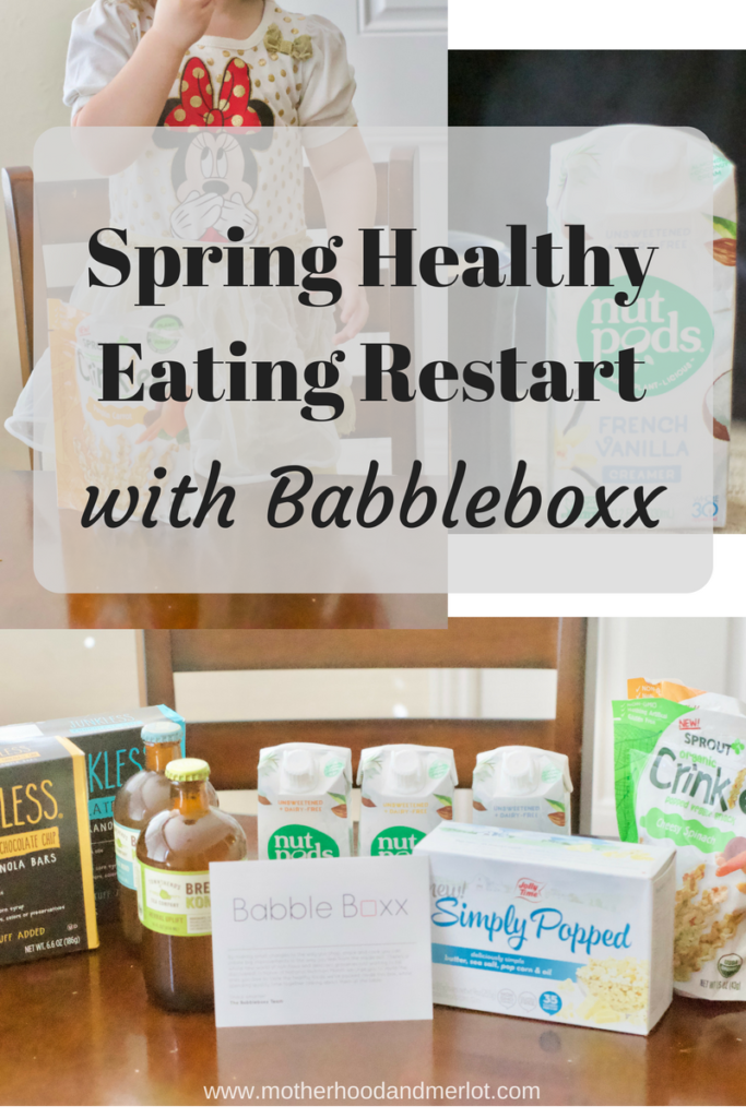 Looking to kickstart some better eating habits this spring and summer? Babbleboxx has curated a great box full of healthy snacks and drinks, delivered right to your door!