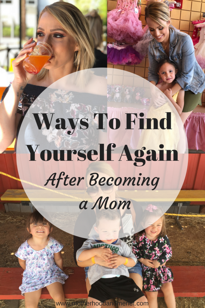 The journey of finding yourself after motherhood can be difficult. I am sharing 5 ways to find yourself again after motherhood that have helped me after having four children, all close in age.