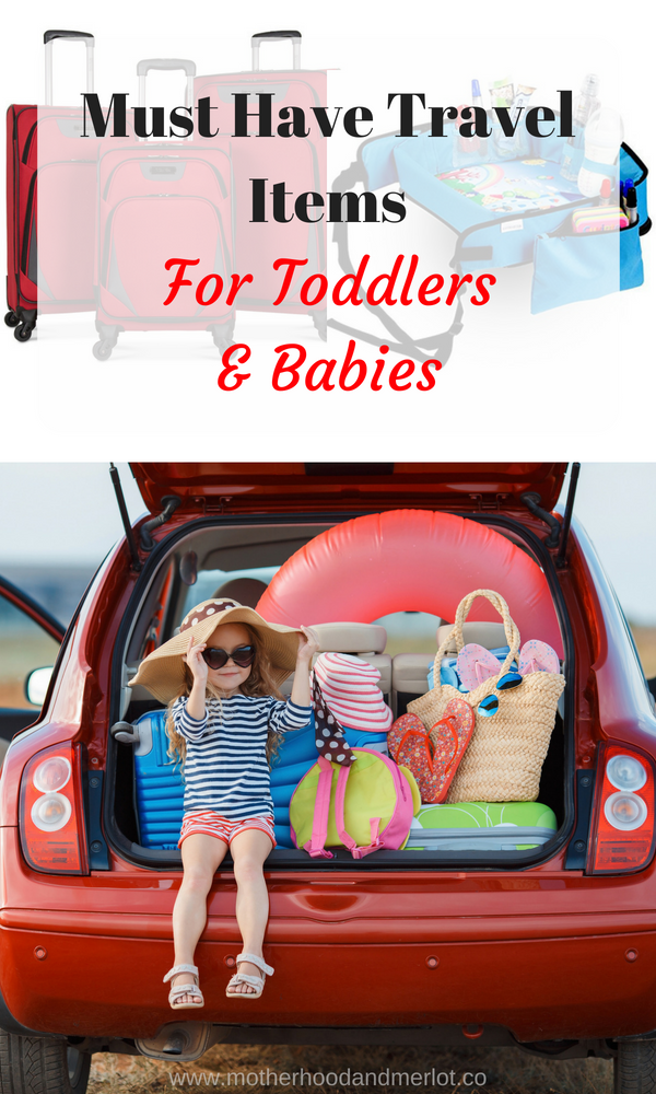 Traveling with kids soon? Check out this list of the must have travel items for toddlers and babies, that will make your trip easier for you & your littles!