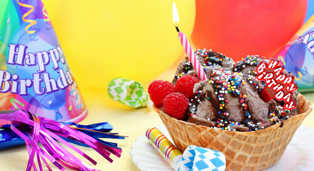 Ice Cream Birthday Party For Twins