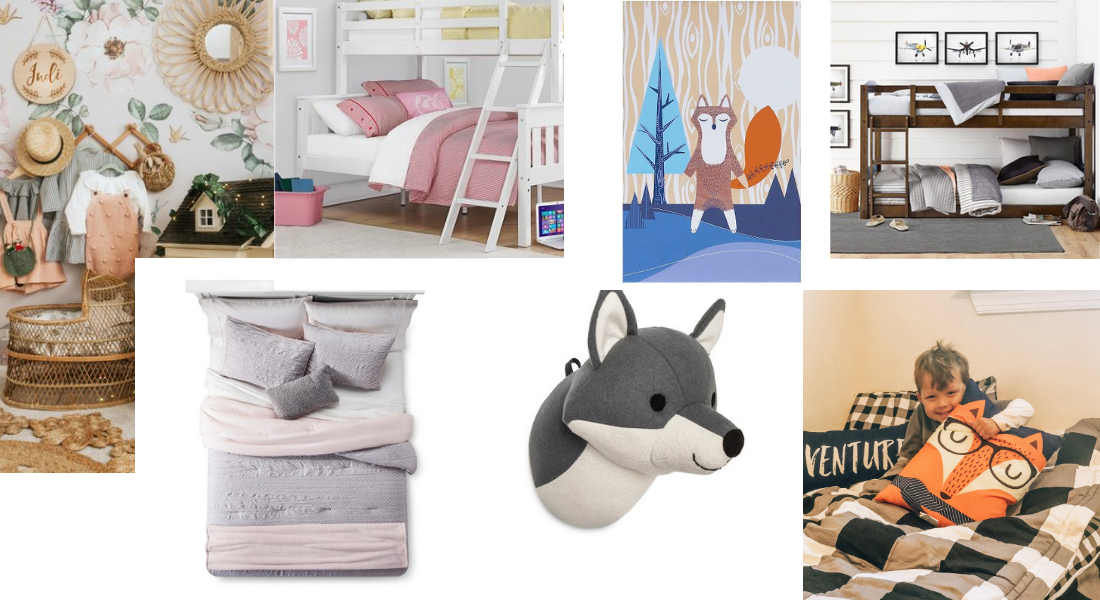 Decor Ideas for Kid Bedrooms : New House Tour