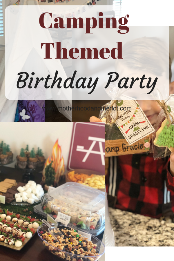 Kid's birthday parties are always fun, and this camping themed party is perfect for the spring, summer, or fall birthday season! Menu, decor, and more ideas