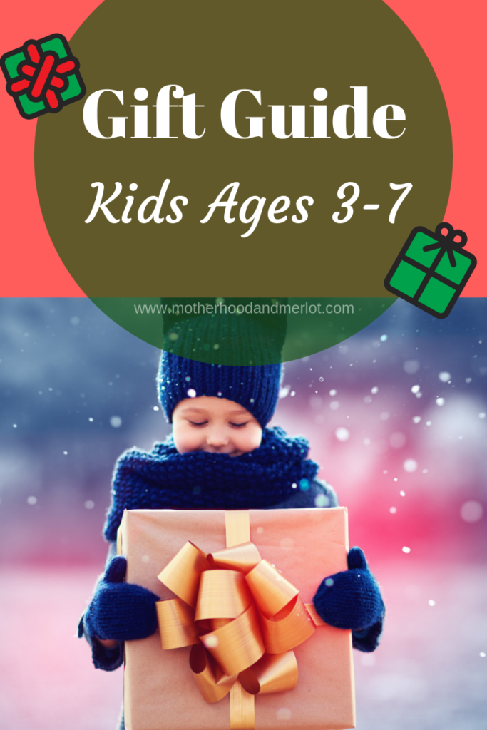 The first of many holiday gift guides this season is live, and today we are sharing our gift guide for kids ages 3-7. Lots of great ideas.