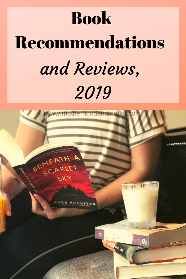 There are so many books out right now, and I have been reading like crazy this year. Check out these wonderful book recommendations 2019 & add to your list!