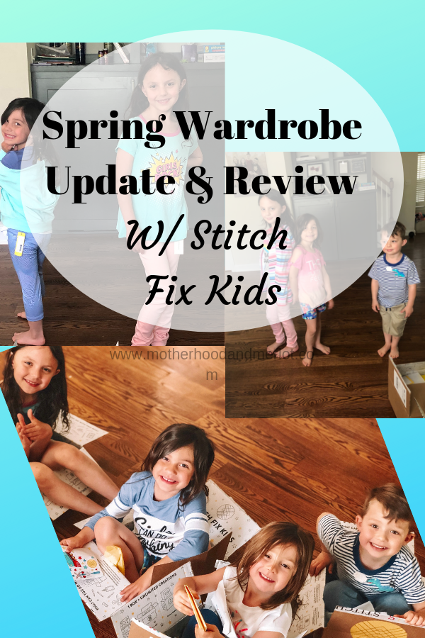 Looking for new kids spring clothes, but don't want to take everyone out shopping? Check out this review of Stitch Fix Kids and get clothes to your door!