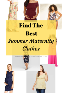 Looking for cute and affordable summer maternity clothes? This list is for you! From swimsuits, to shorts, and adorable summer dresses...