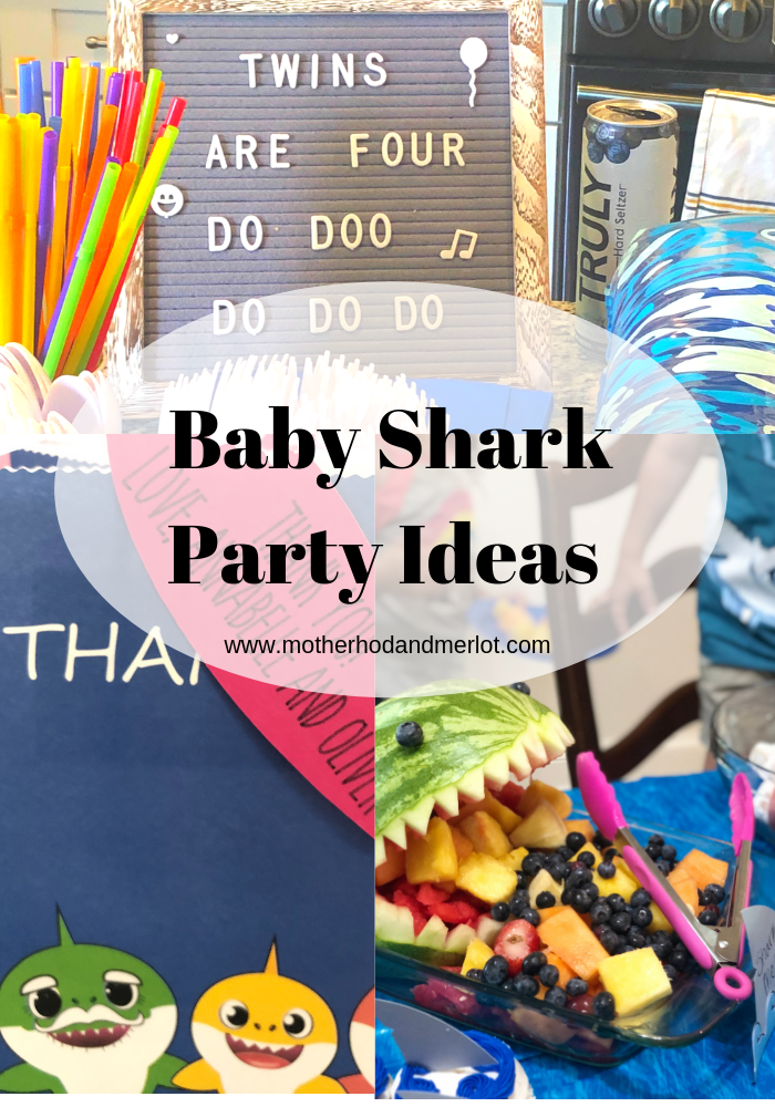Check out these great party ideas for your next Baby Shark Birthday, Under the Sea birthday, beach birthday, and more! Food, decor...