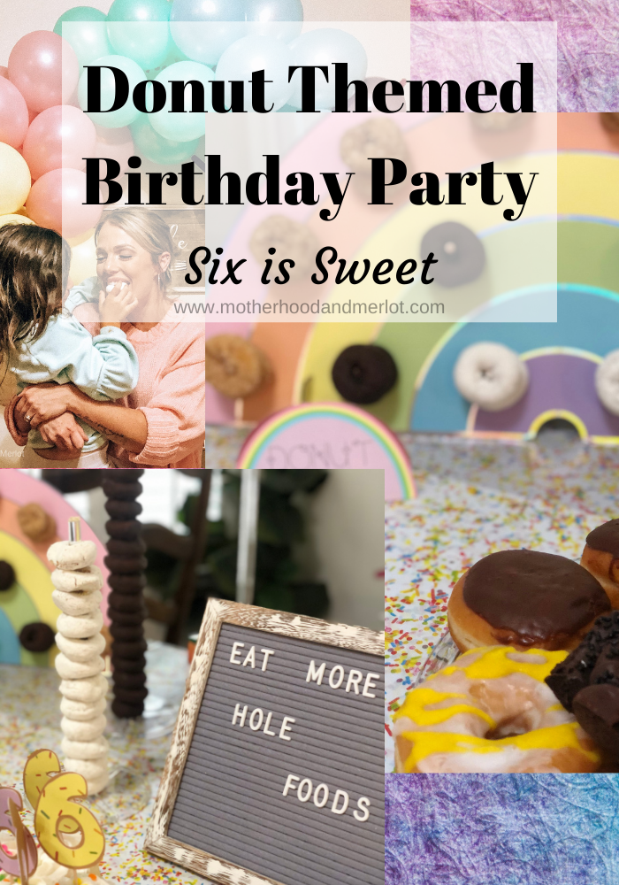 All of the things you need to throw your own donut birthday party, complete with games, decor, food, favors, and more! Donuts for days.